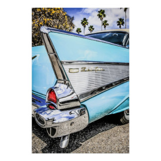 1953 Chevrolet Chevy Bel Air Poster