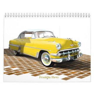 1953 Chevy calendar