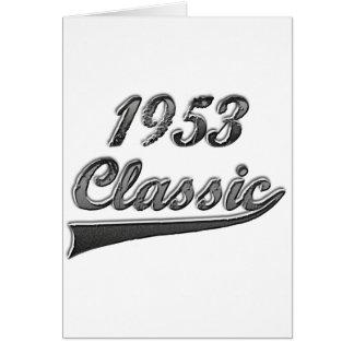 1953 Classic Card