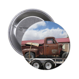 1953 Ford F-100 Truck 2 Inch Round Button