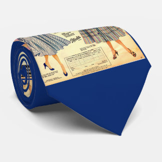 1953 Gimbels Subway Store dress sale Tie