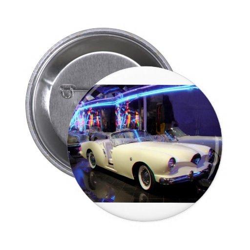 1953 Kaiser Darrin Pinback Button