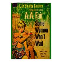 1953 pulp novel cover Some Women Won't Wait