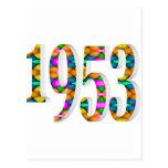 1953 TARJETA POSTAL