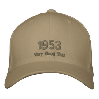 1953 Very Good Year Embroidered Hat