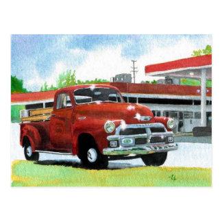1954 Antique Truck Postcard