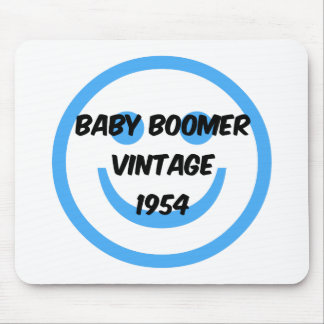 1954 baby boomer mouse pad