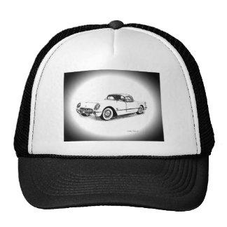 1954 Chevrolet Corvette Hats