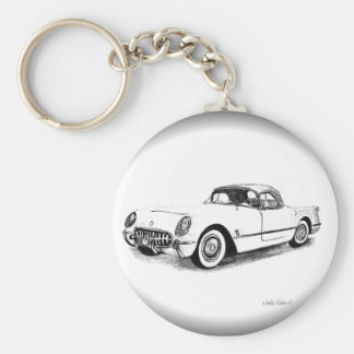 1954 Chevrolet Corvette Key chain