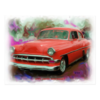 1954 Chevy Post Card
