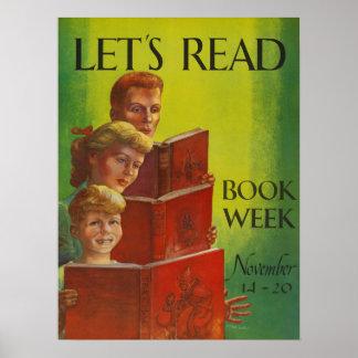 1954 Children's Book Week Poster