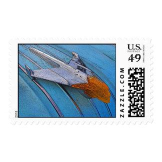 1954 Pontiac Hood Ornament Stamp
