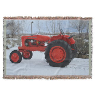 1955 Allis Chalmers WD45 Tractor Throw Blanket