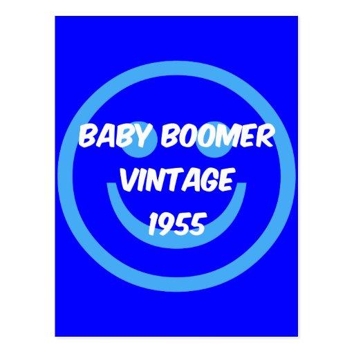 1955 baby boomer postcard