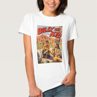 1955 Billy the Kid Western Annual cover Tshirt