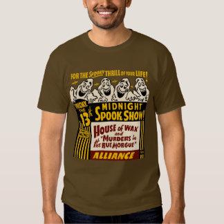 1955 - Camiseta de medianoche de la demostración Polera