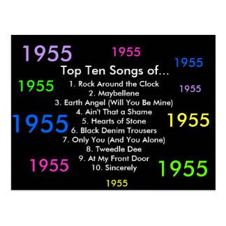 1955 canciones postal