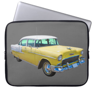 1955 Chevrolet Bel Air Antique Car Computer Sleeve
