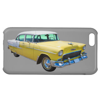 1955 Chevrolet Bel Air Antique Car Cover For iPhone 5C