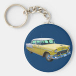 1955 Chevrolet Bel Air Antique Car Keychain