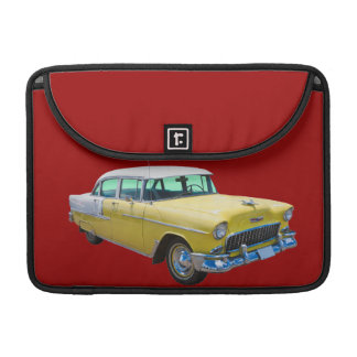 1955 Chevrolet Bel Air Antique Car Sleeves For MacBooks