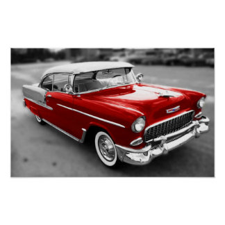 1955 Chevrolet Bel-Air Print