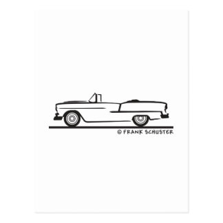 1955 Chevrolet Convertible Postcard