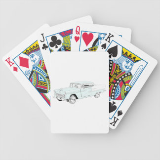 1955 Chevy Bel Air Bicycle Playing Cards