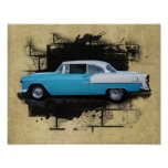 1955 Chevy Bel Air- Classic Car- Print