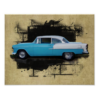 1955 Chevy Bel Air- Classic Car- Print