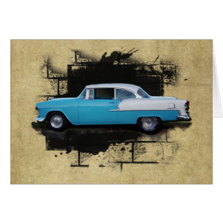 1955 Chevy Bel Air- Classic Cars- Card