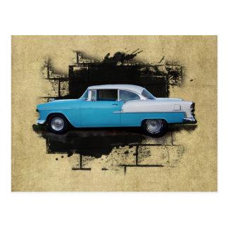 1955 Chevy Bel Air- Classic Cars- Postcard