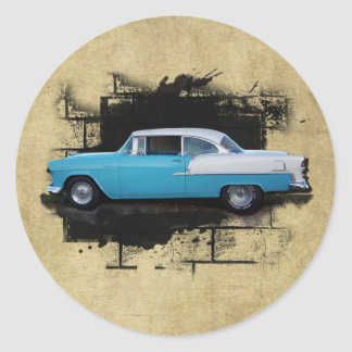 1955 Chevy Bel Air- Classic Cars-  Sticker
