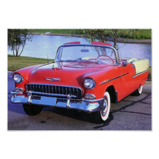 1955 Chevy Bel-Air Poster