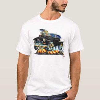 1955 Chevy Belair Black Car T-Shirt