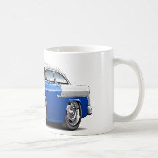 1955 Chevy Belair Blue-White Car Coffee Mug