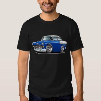 1955 Chevy Belair Blue-White Car T-shirt