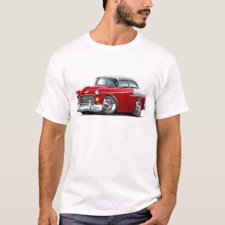 1955 Chevy Belair Red-White Car T-Shirt