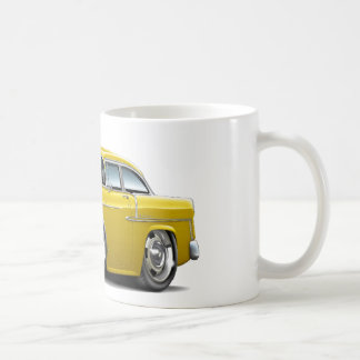 1955 Chevy Belair Yellow Car Coffee Mug