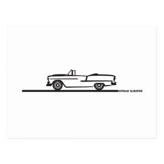 1955 Chevy Convertible Postcard