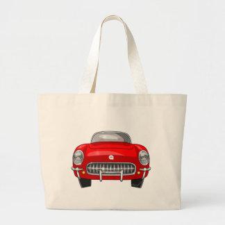 1955 Chevy Corvette Large Tote Bag