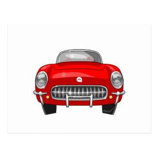 1955 Chevy Corvette Postcard