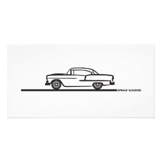 1955 Chevy Coupe Card