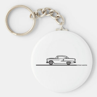 1955 Chevy Coupe Keychain