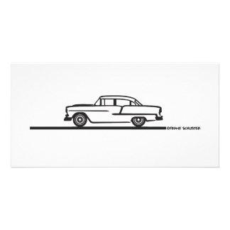 1955 Chevy Four Door Card