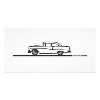 1955 Chevy Hardtop Post Card