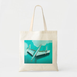 1955 Chevy Hood Ornament Tote Bag