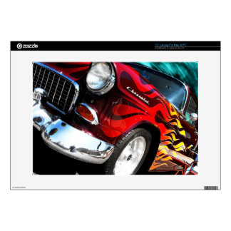 1955 Chevy Hot Rod Skin For Laptop