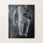"""1955 Chevy Jigsaw Puzzle<br><div class=""""desc"""">The iconic 1955 Chevy</div>"""