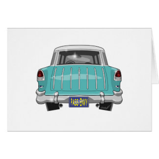 1955 Chevy Nomad Card
